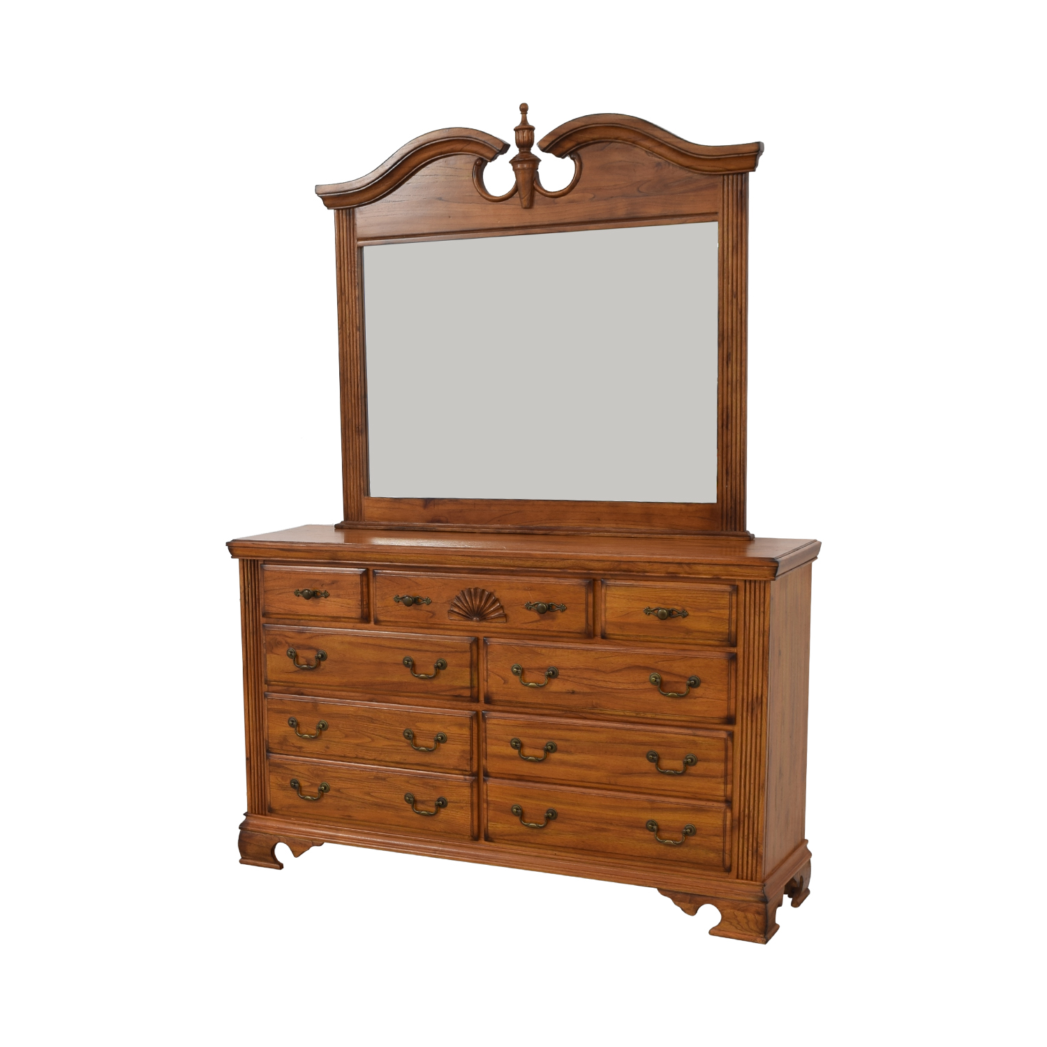 shop Millenia USA Millenia USA Seven Drawer Dresser with Mirror online