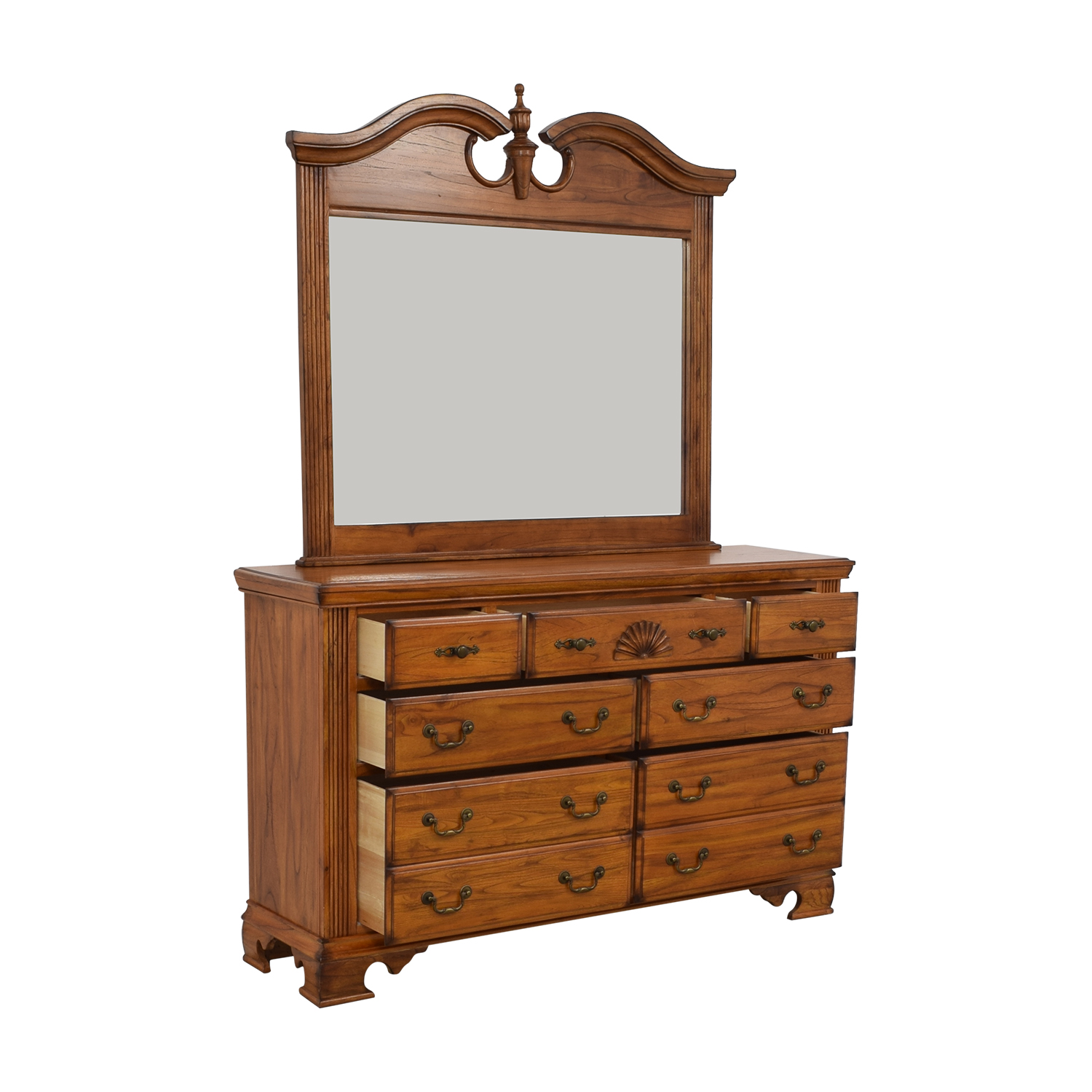 Millenia USA Millenia USA Seven Drawer Dresser with Mirror nyc