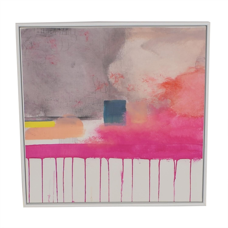 West Elm Composition V Framed Print / Wall Art