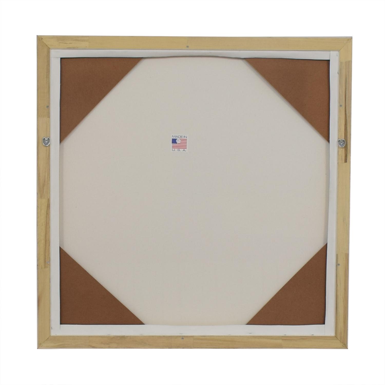 West Elm Composition V Framed Print sale