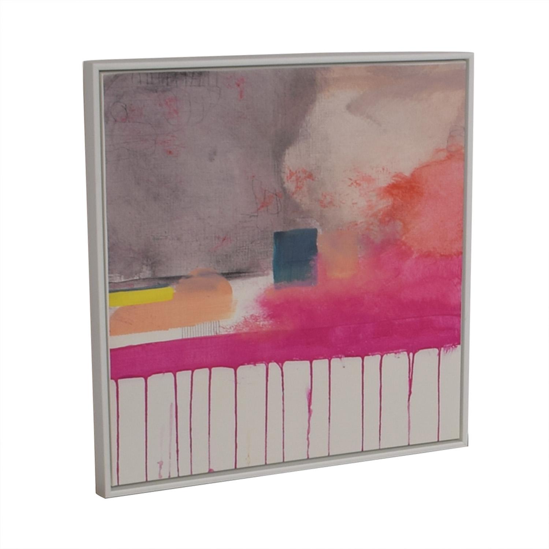 West Elm Composition V Framed Print West Elm