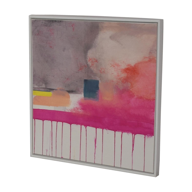 West Elm West Elm Composition V Framed Print on sale