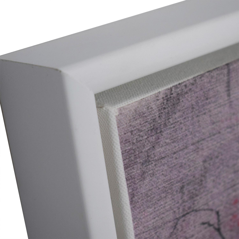 West Elm West Elm Composition V Framed Print nyc