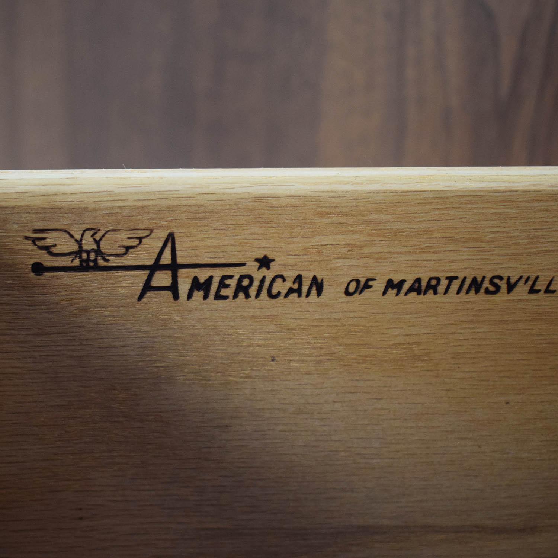 buy American of Martinsville American of Martinsville Mid Century High Boy Dresser online