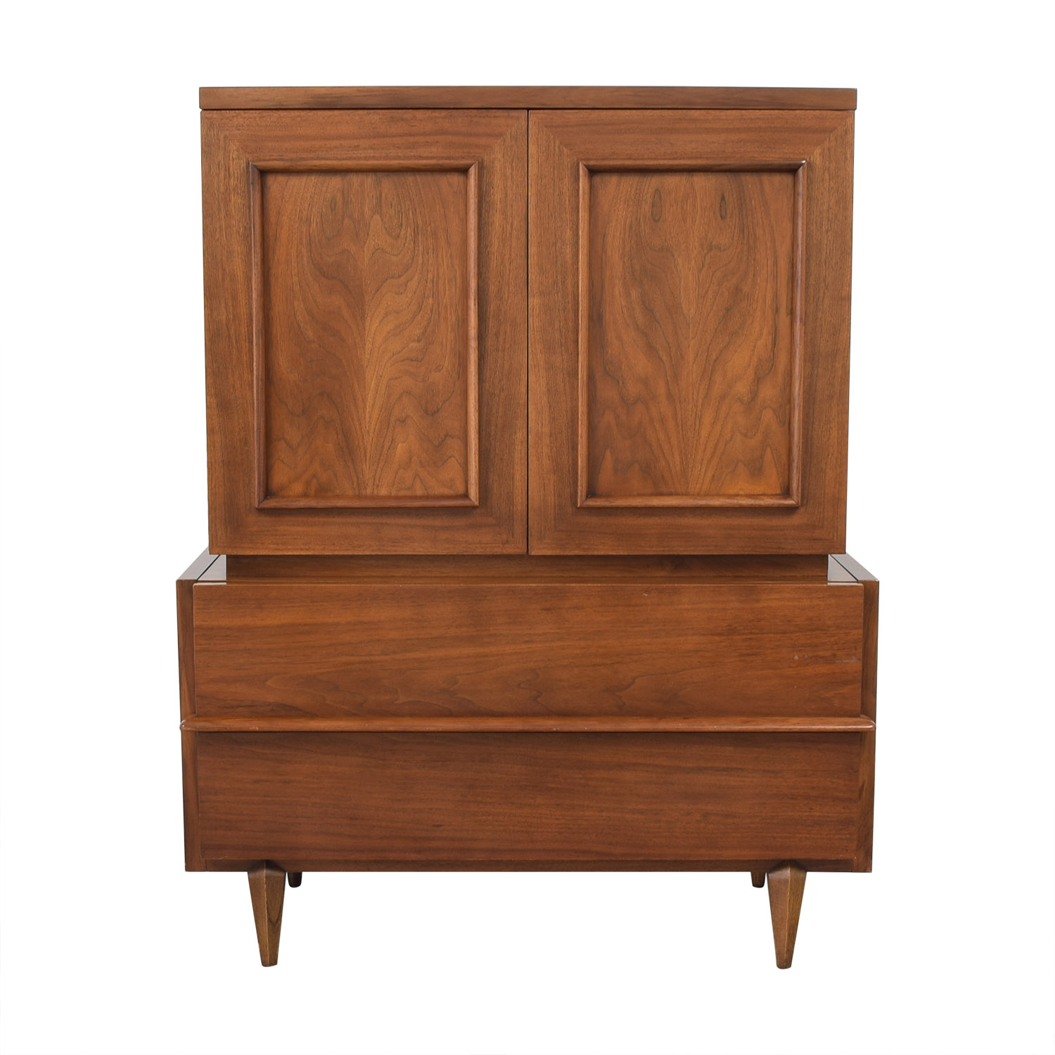 buy American of Martinsville Mid Century High Boy Dresser American of Martinsville