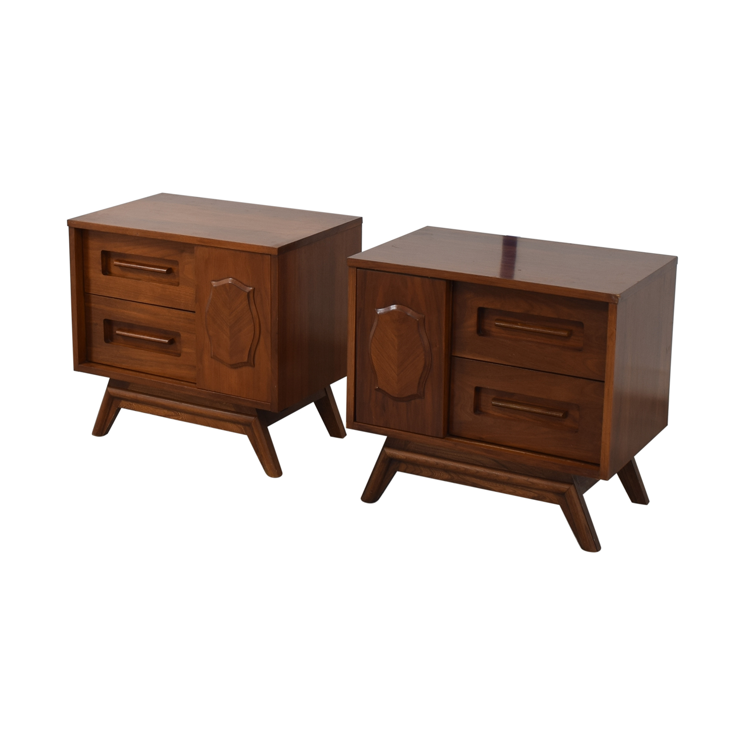 buy Young Manufacturing Company Mid Century Night Stands Young Manufacturing Company Tables