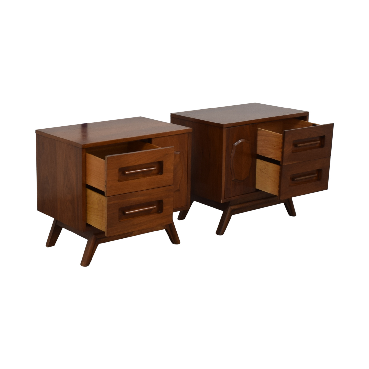 Young Manufacturing Company Young Manufacturing Company Mid Century Night Stands Tables