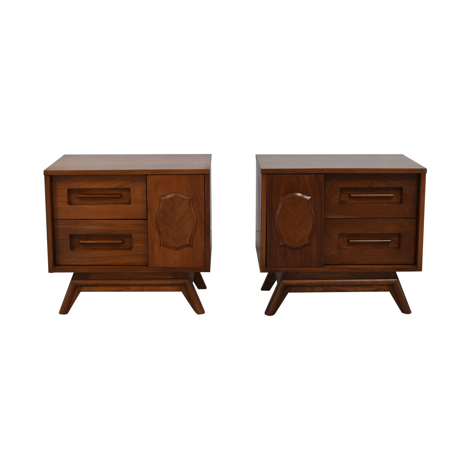 Young Manufacturing Company Young Manufacturing Company Mid Century Night Stands for sale