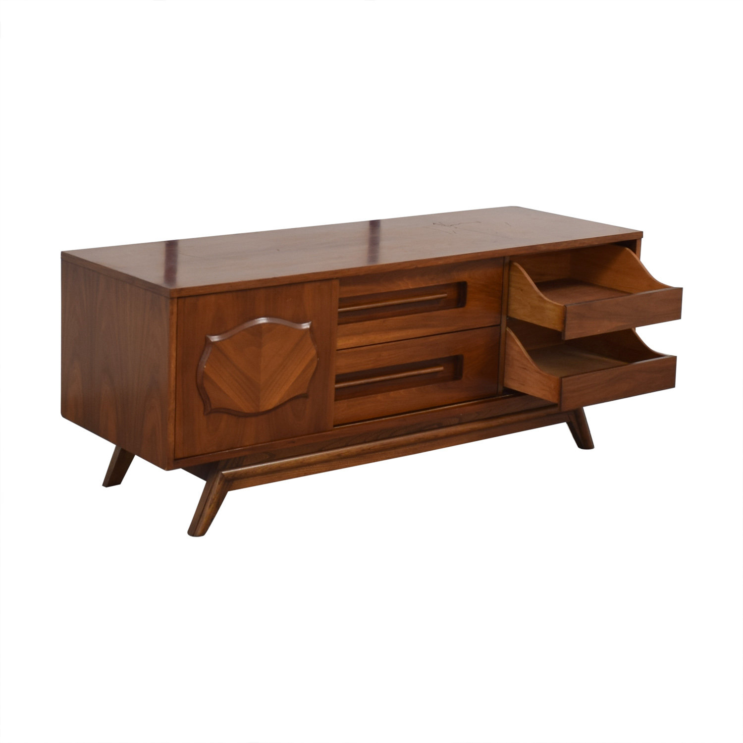 buy Young Manufacturing Company Mid Century Credenza Young Manufacturing Company Storage