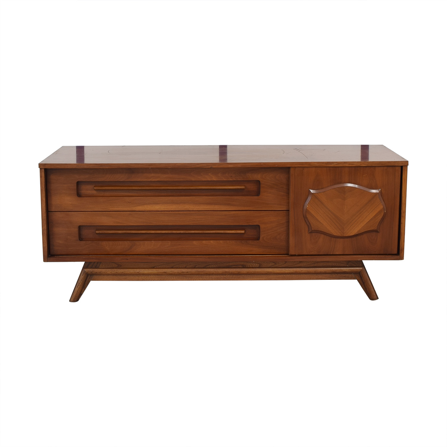 Young Manufacturing Company Mid Century Credenza / Cabinets & Sideboards