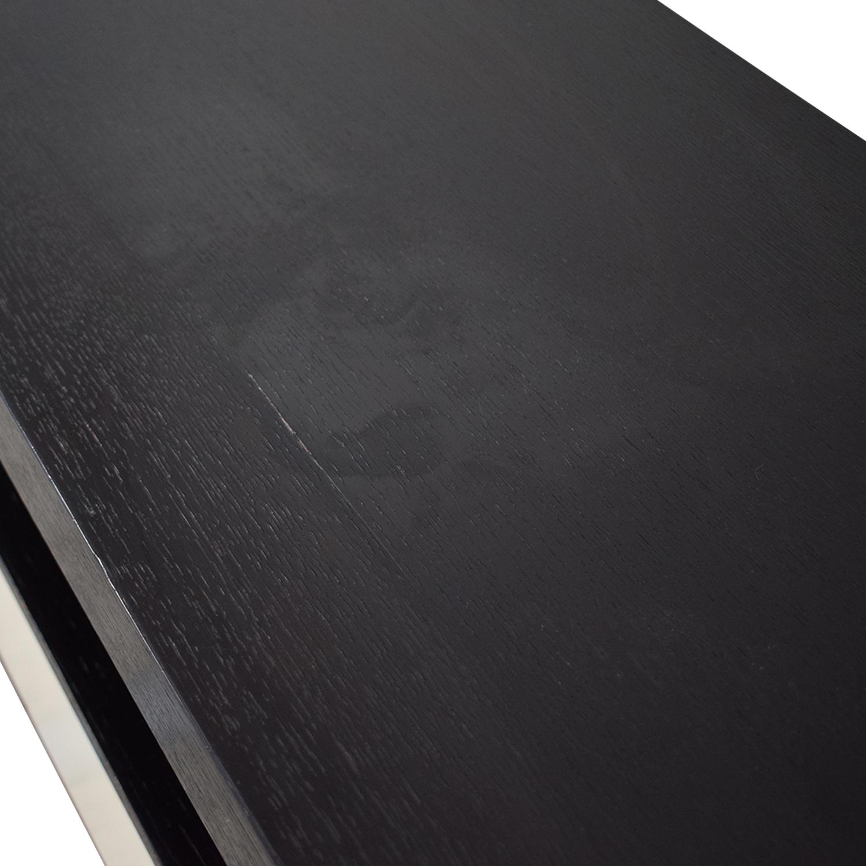 Modani Modani TV Stand with Drawers black and white