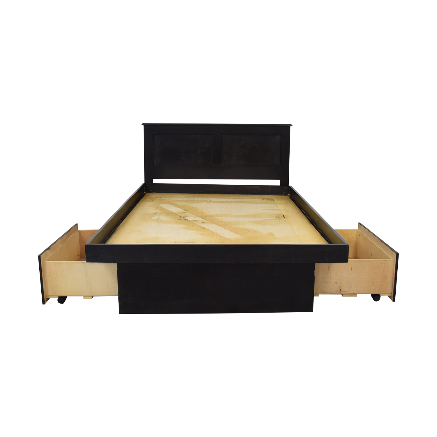 Gothic Cabinet Craft Full Platform Bed with Drawers sale