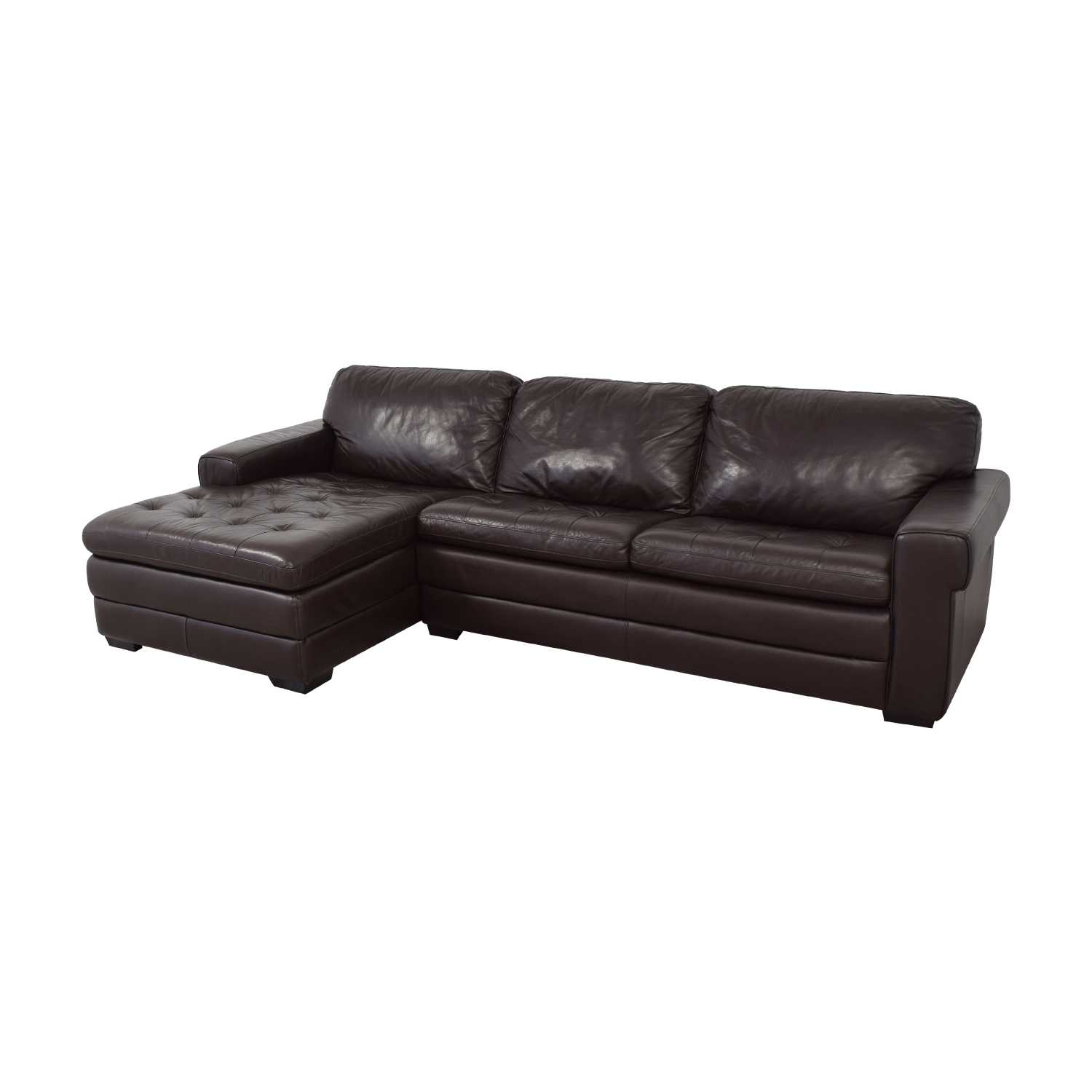 shop Havertys Chaise Sectional Sofa Havertys Sectionals