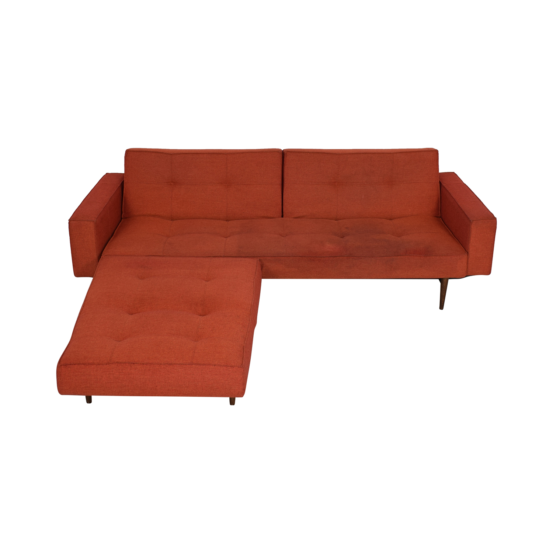 Astonishing 80 Off Innovation Living Innovation Living Convertible Sofa With Convertible Ottoman Sofas Customarchery Wood Chair Design Ideas Customarcherynet