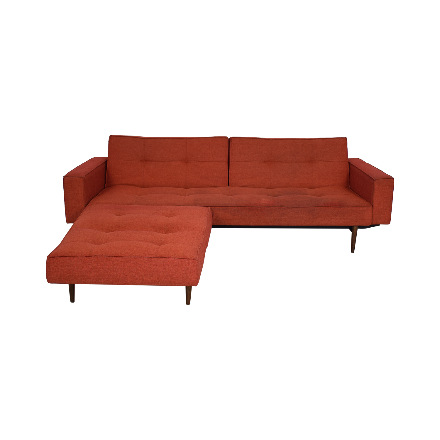 Innovation Living Innovation Living Convertible Sofa with Convertible Ottoman
