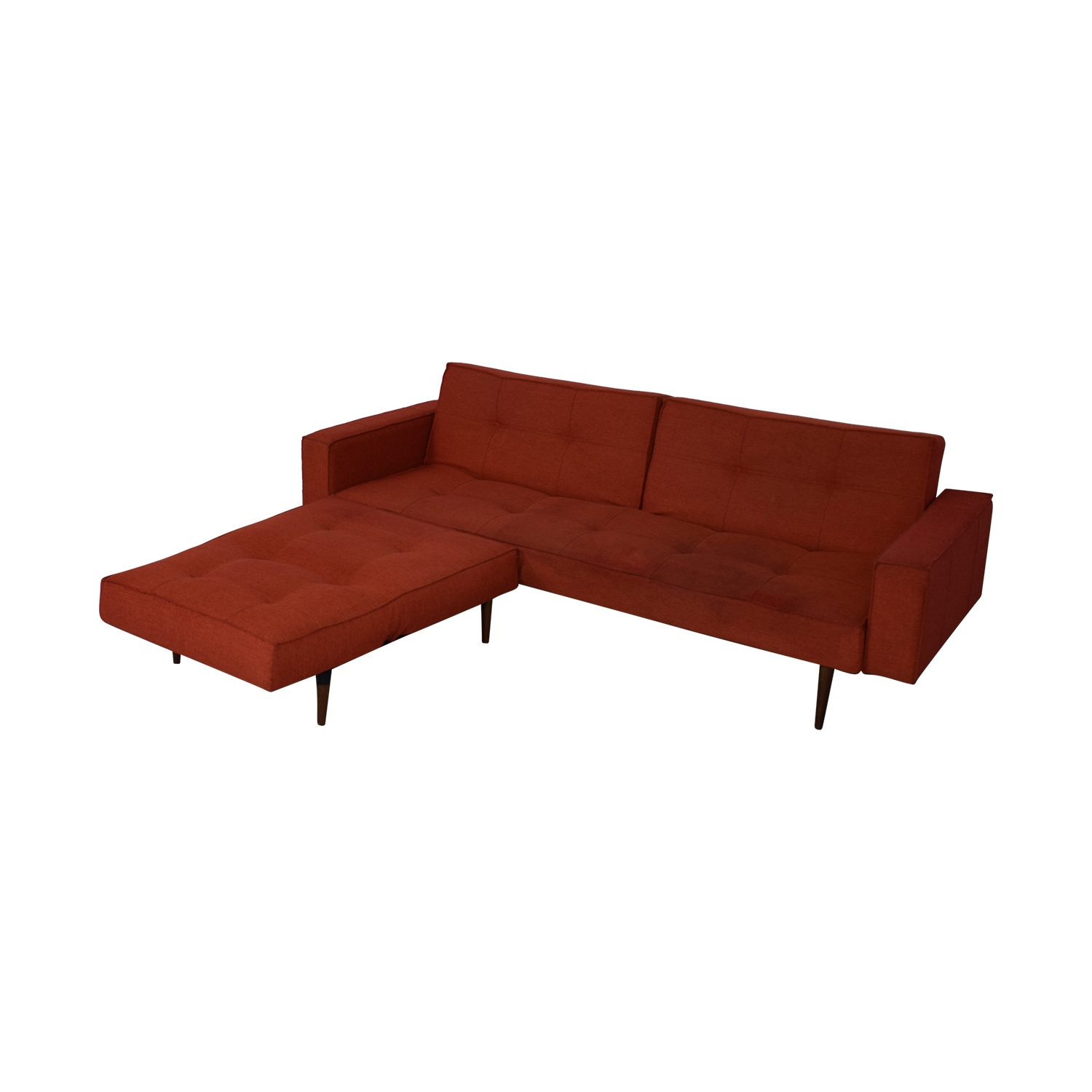 79% OFF - Innovation Living Innovation Living Convertible Sofa with  Convertible Ottoman / Sofas