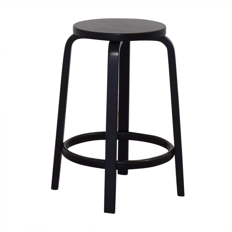 Artek Artek Alvar Aalto Bar Stool 64 black