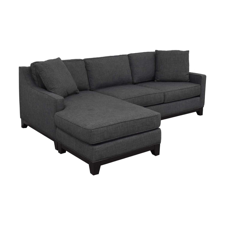 Macy's Keegan Fabric Reversible Chaise Sectional Sofa Macy's