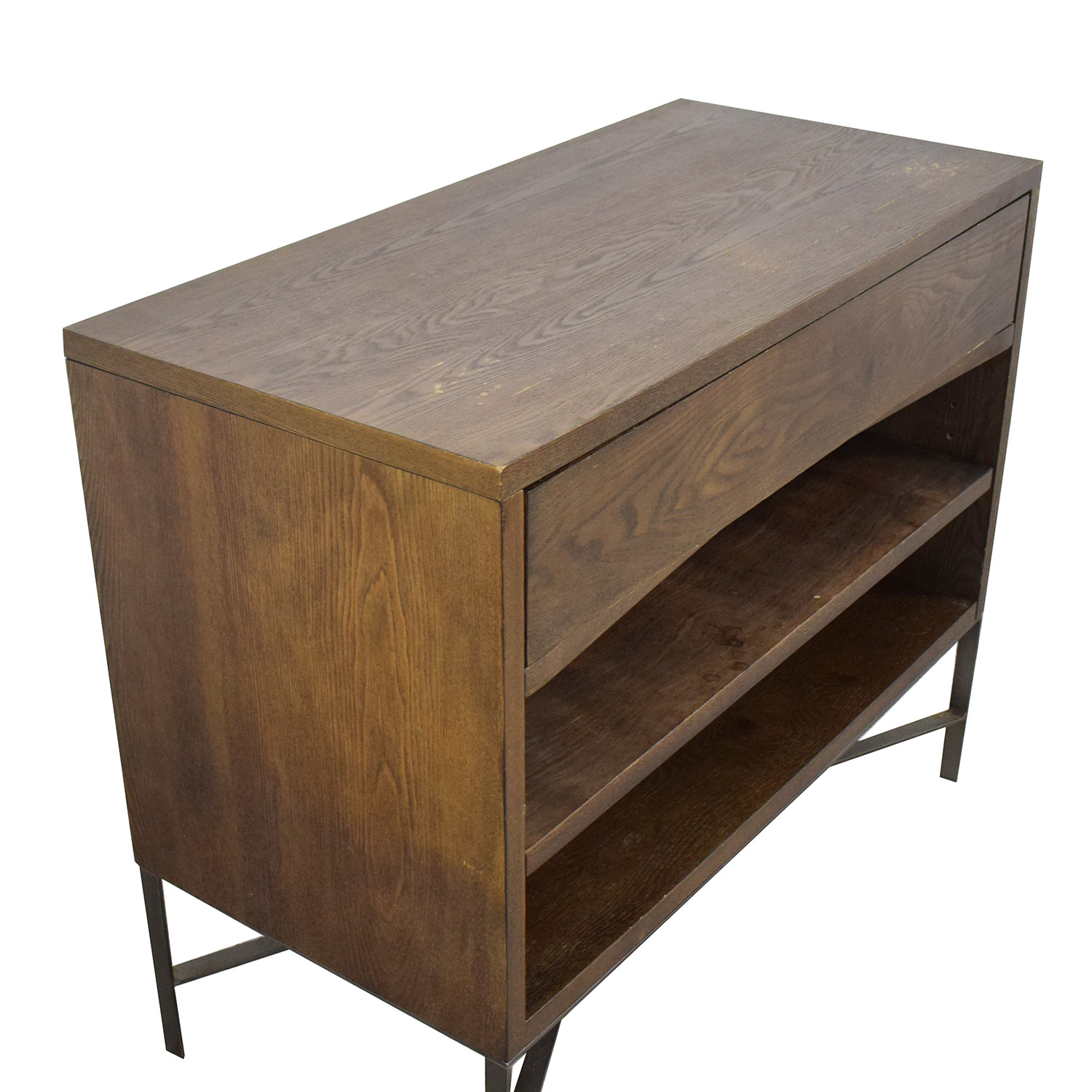 buy West Elm Preston Media Console West Elm Media Units