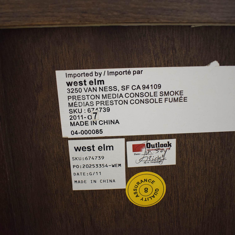 West Elm Preston Media Console West Elm