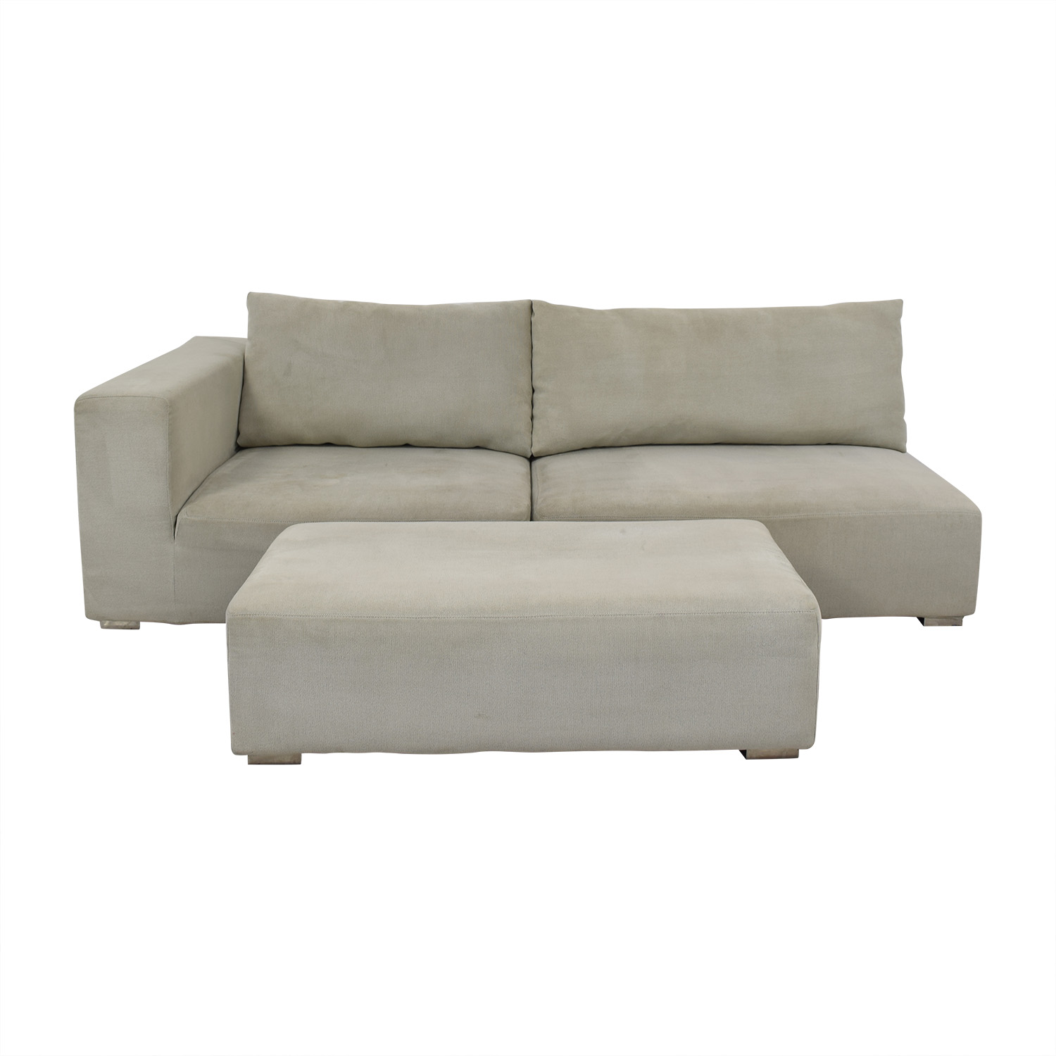 buy  Chaise Sofa with Ottoman online