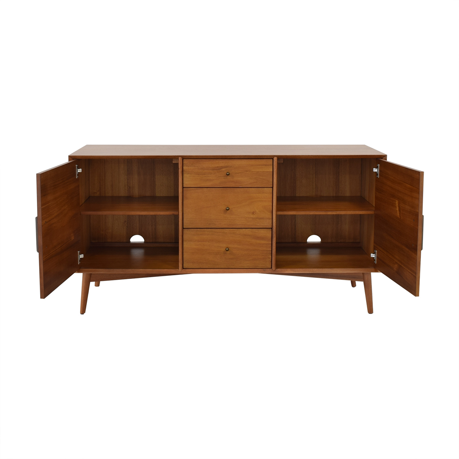 West Elm Mid-Century Media Console West Elm