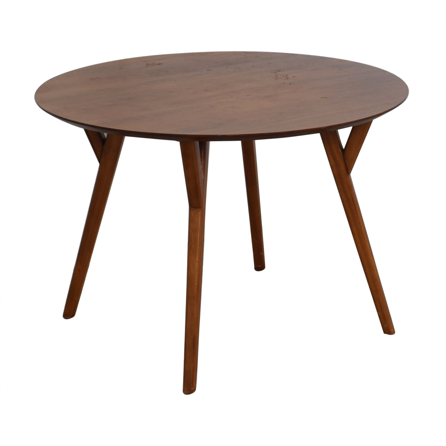 69 Off West Elm West Elm Round Dining Table Tables