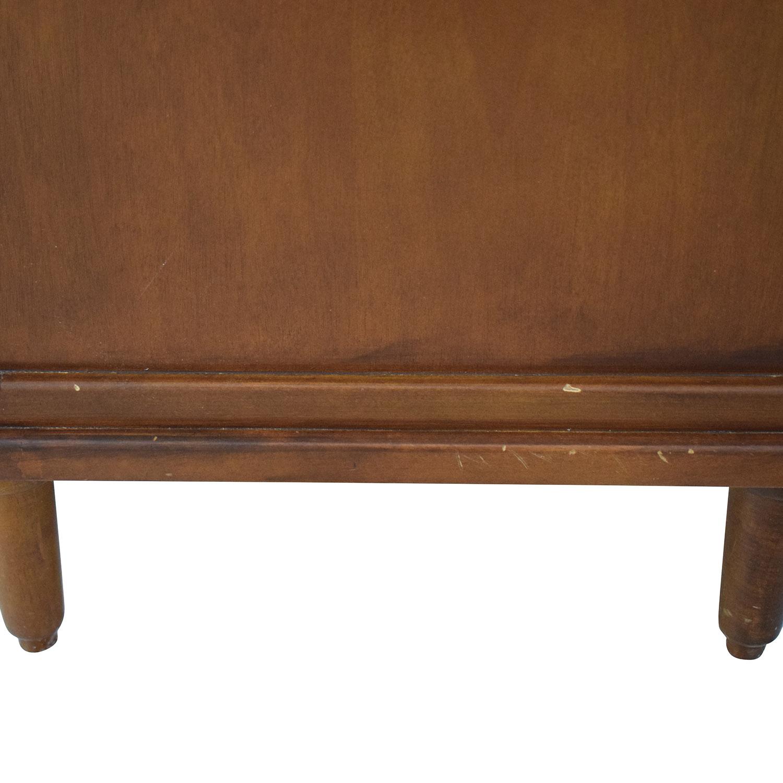 Crate & Barrel Four Drawer Dresser / Storage