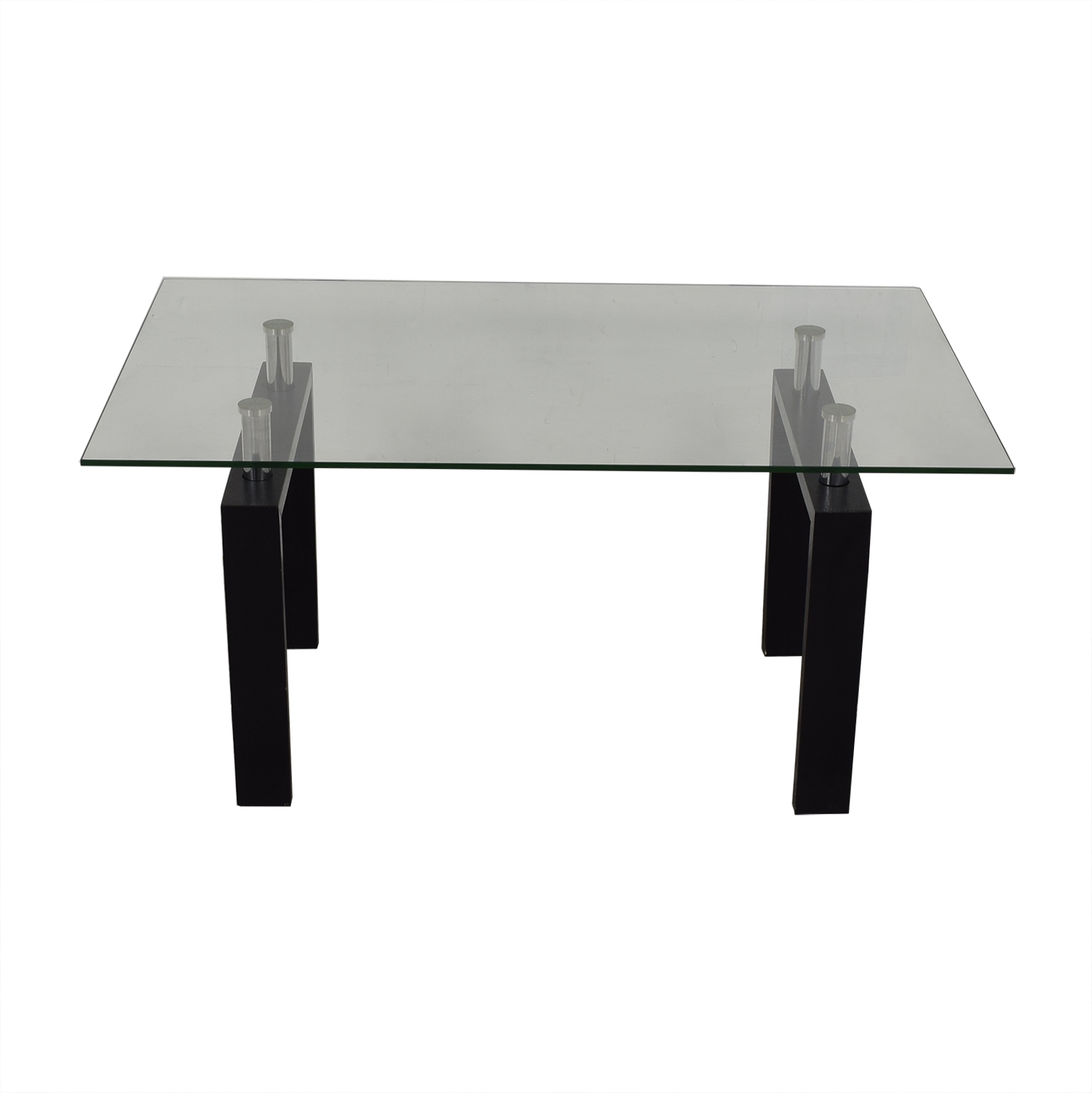 Glass Top Dining Table / Tables