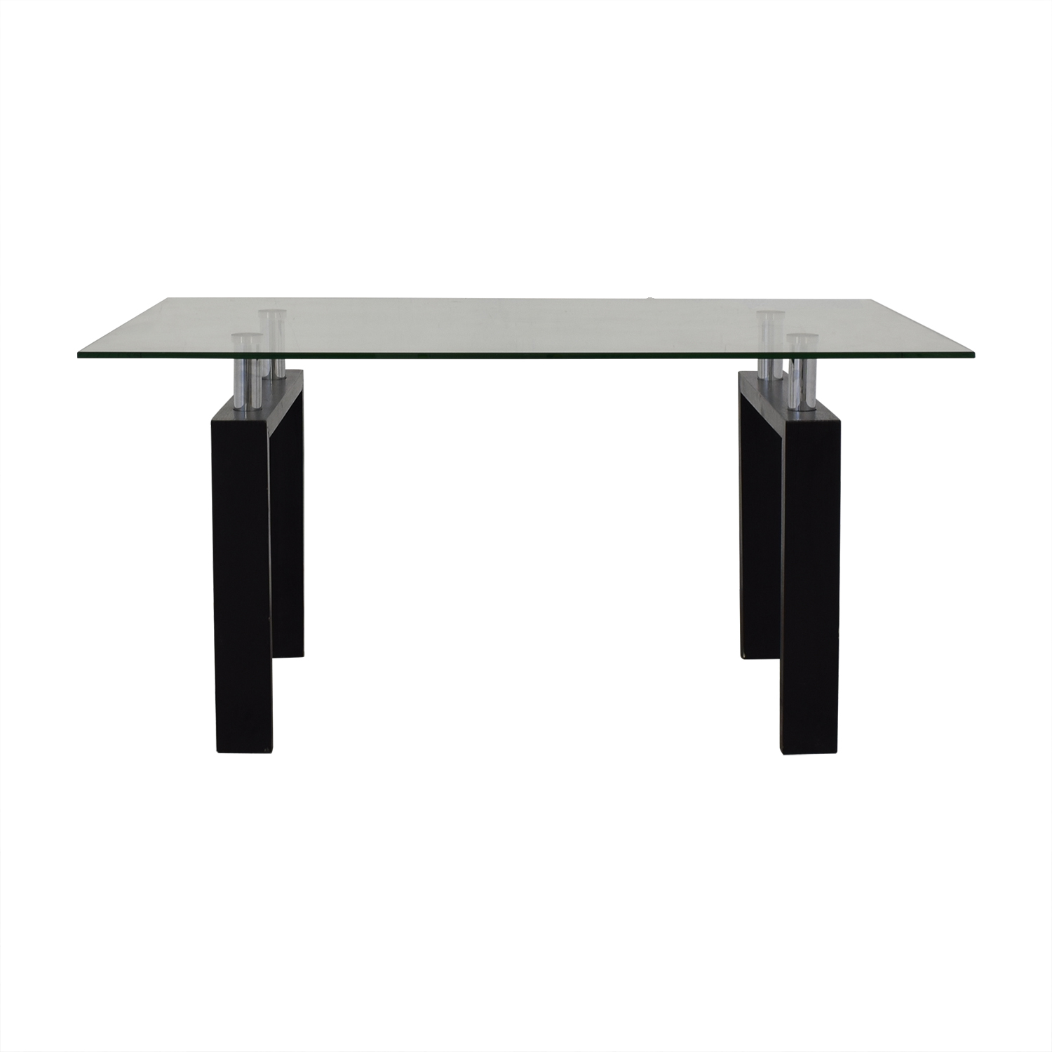 Glass Top Dining Table on sale
