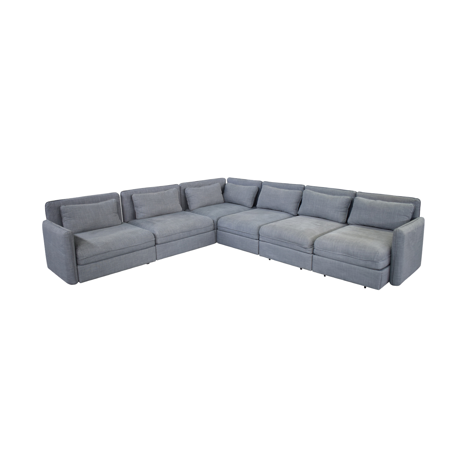 buy Ikea Six Piece Sectional Sleeper Sofa IKEA Sectionals