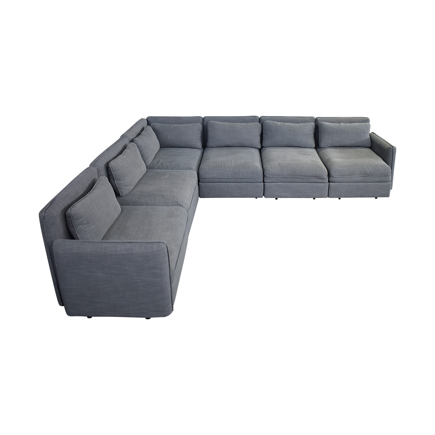 IKEA Ikea Six Piece Sectional Sleeper Sofa dimensions