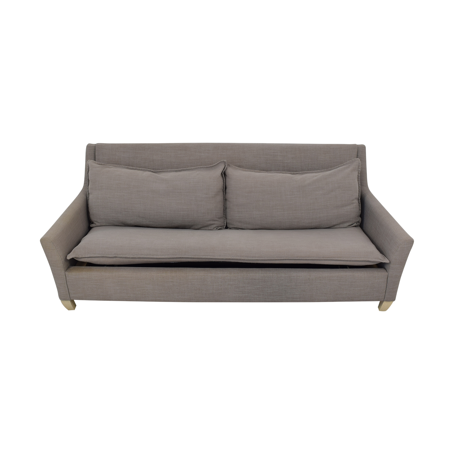 West Elm West Elm Bliss Queen Sleeper Sofa dimensions