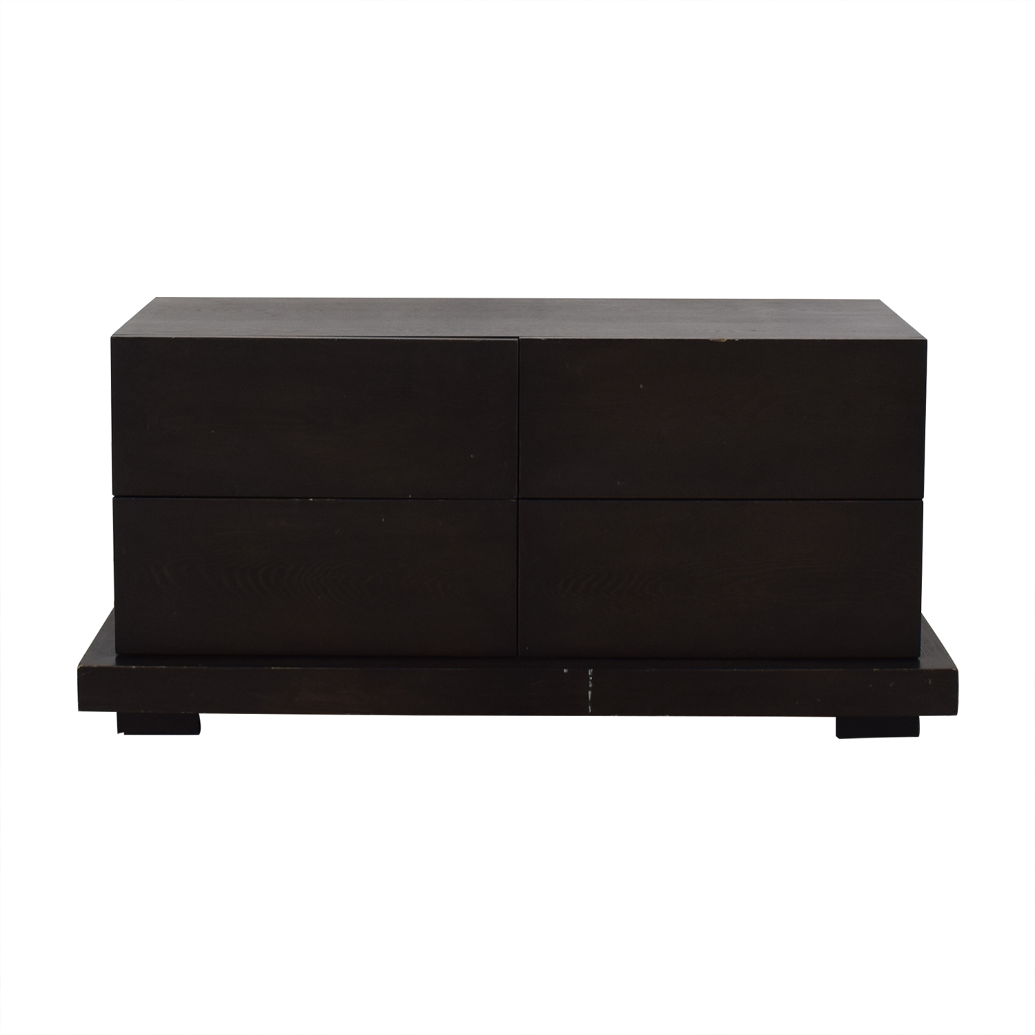 West Elm Modern Four Drawer Dresser West Elm