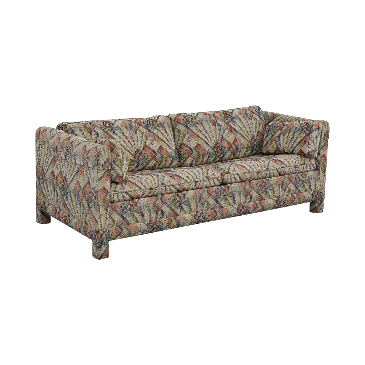 Mittman Patterned Queen Sleeper Sofa sale