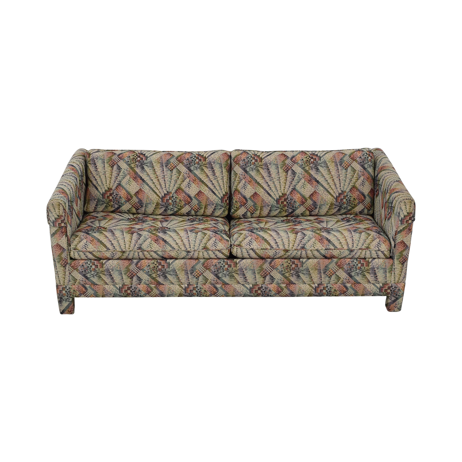 buy Mittman Patterned Queen Sleeper Sofa Lewis Mittman Sofas