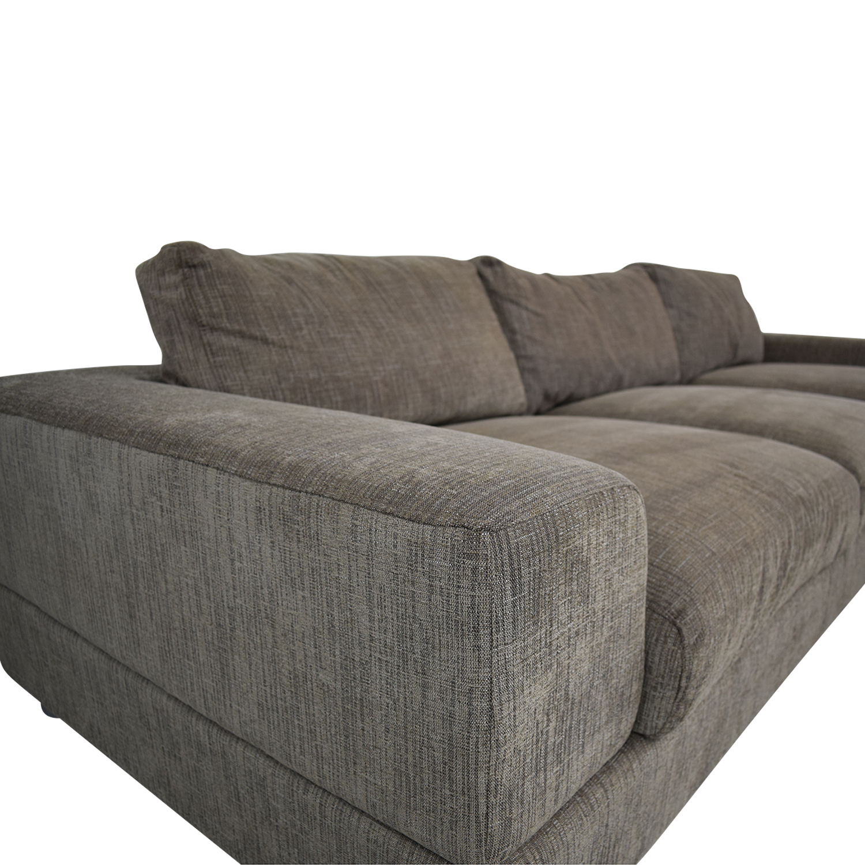 Nick Scali Nick Scali Lounge Sectional Sofa used