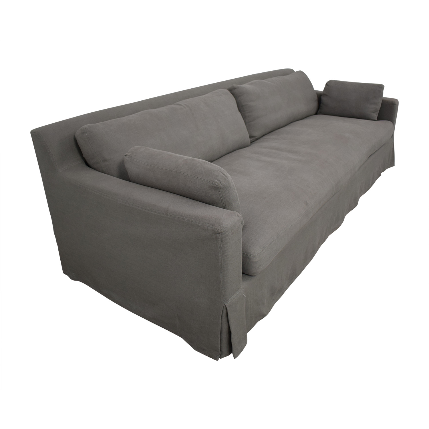 Restoration Hardware Belgian Track Arm Sofa sale