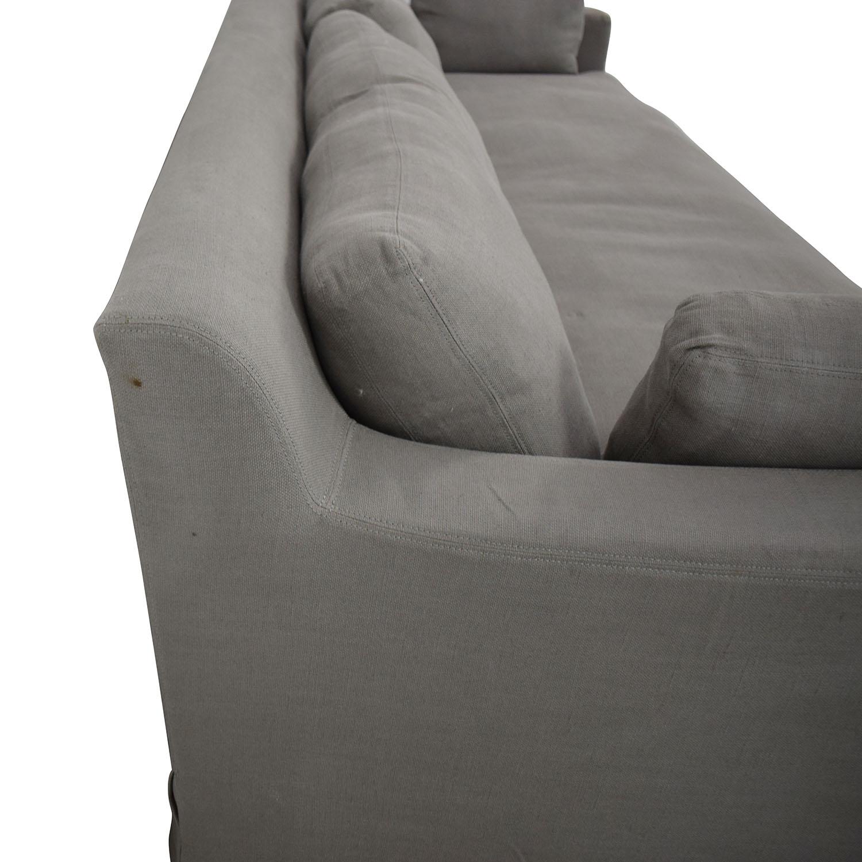 Restoration Hardware Restoration Hardware Belgian Track Arm Sofa Sofas