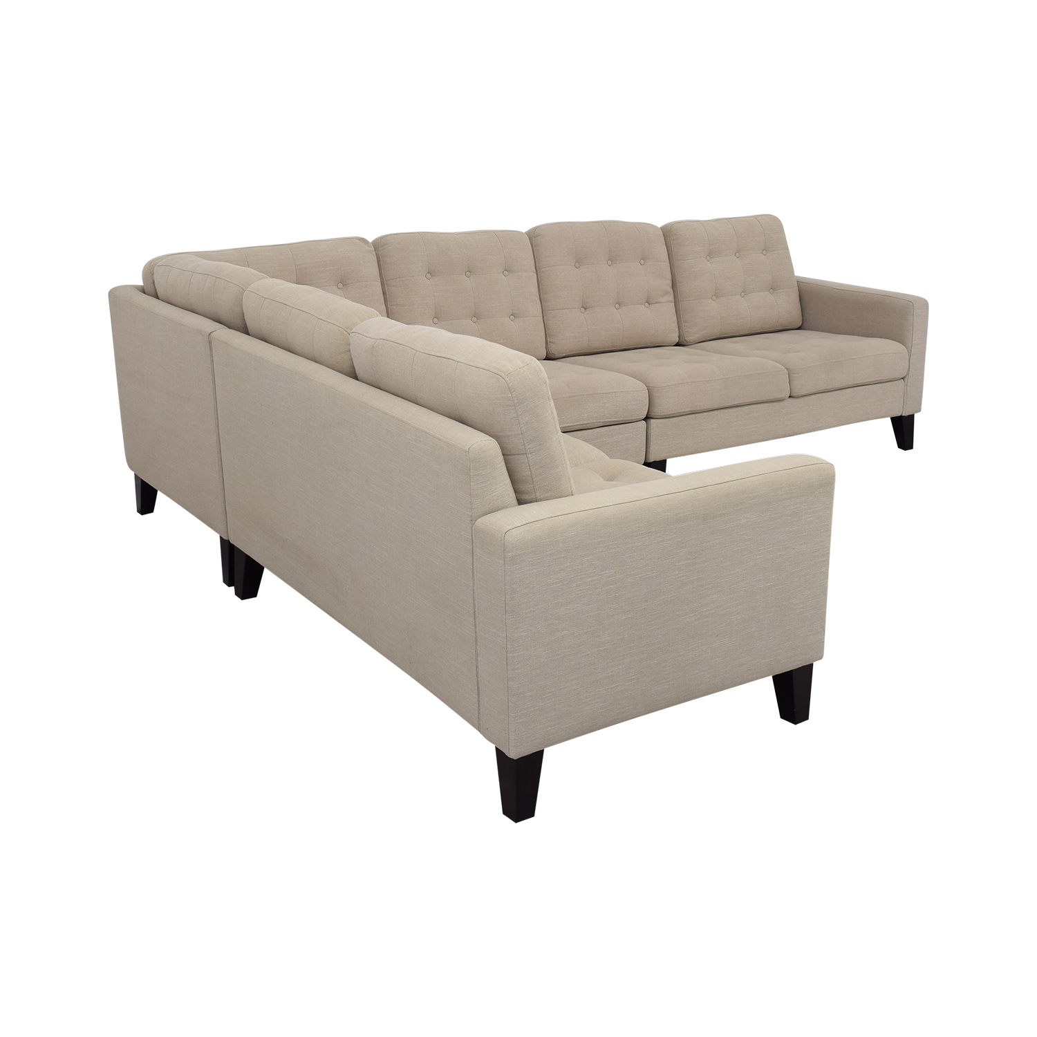 buy Pier 1 Nyle L-Shaped Sectional Sofa Pier 1