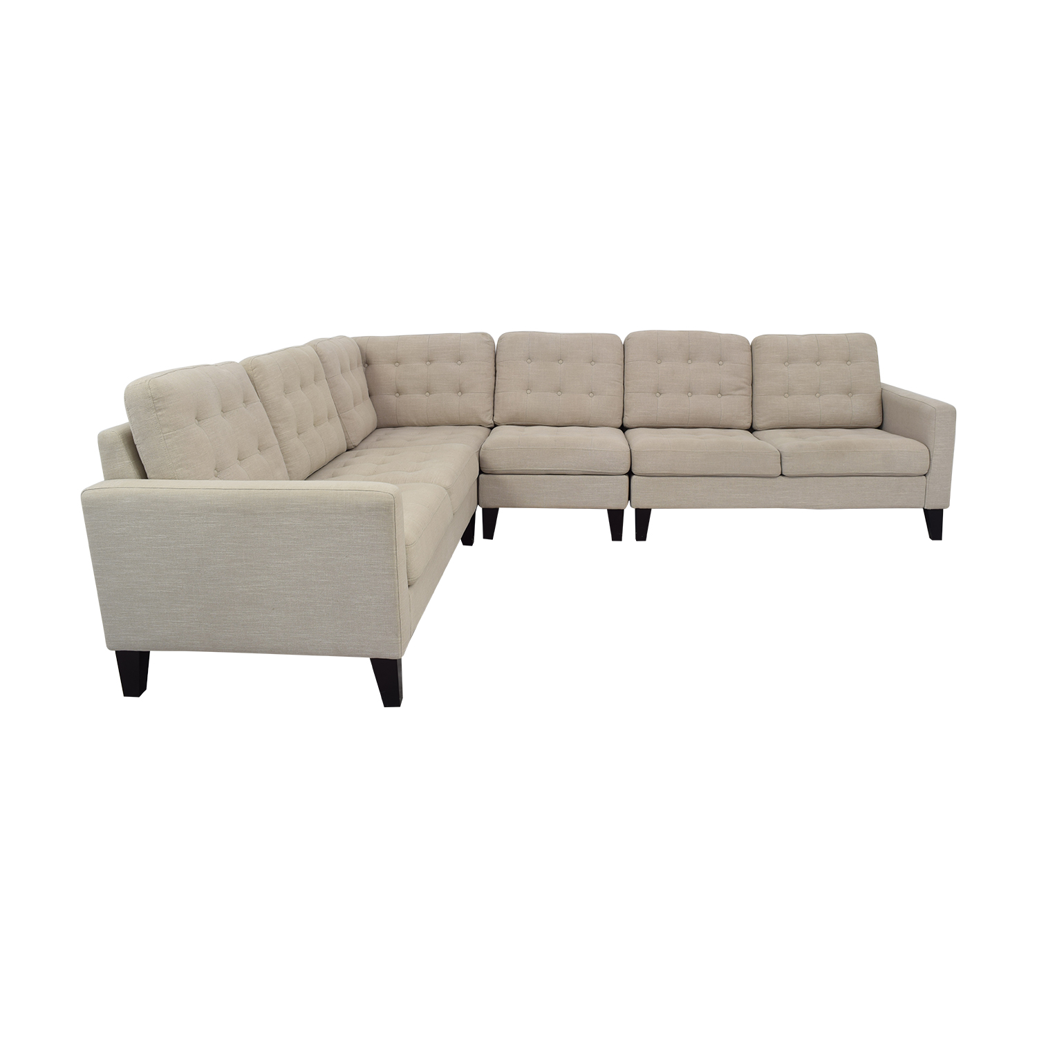 Pier 1 Pier 1 Nyle L-Shaped Sectional Sofa second hand