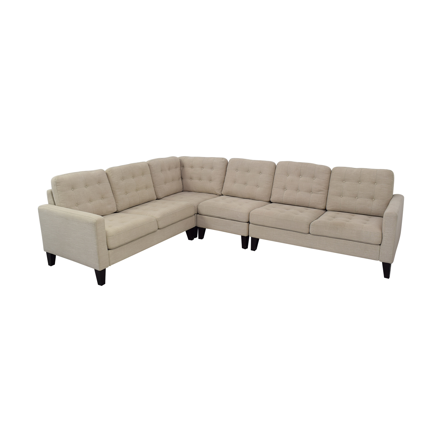 Pier 1 Pier 1 Nyle L-Shaped Sectional Sofa discount