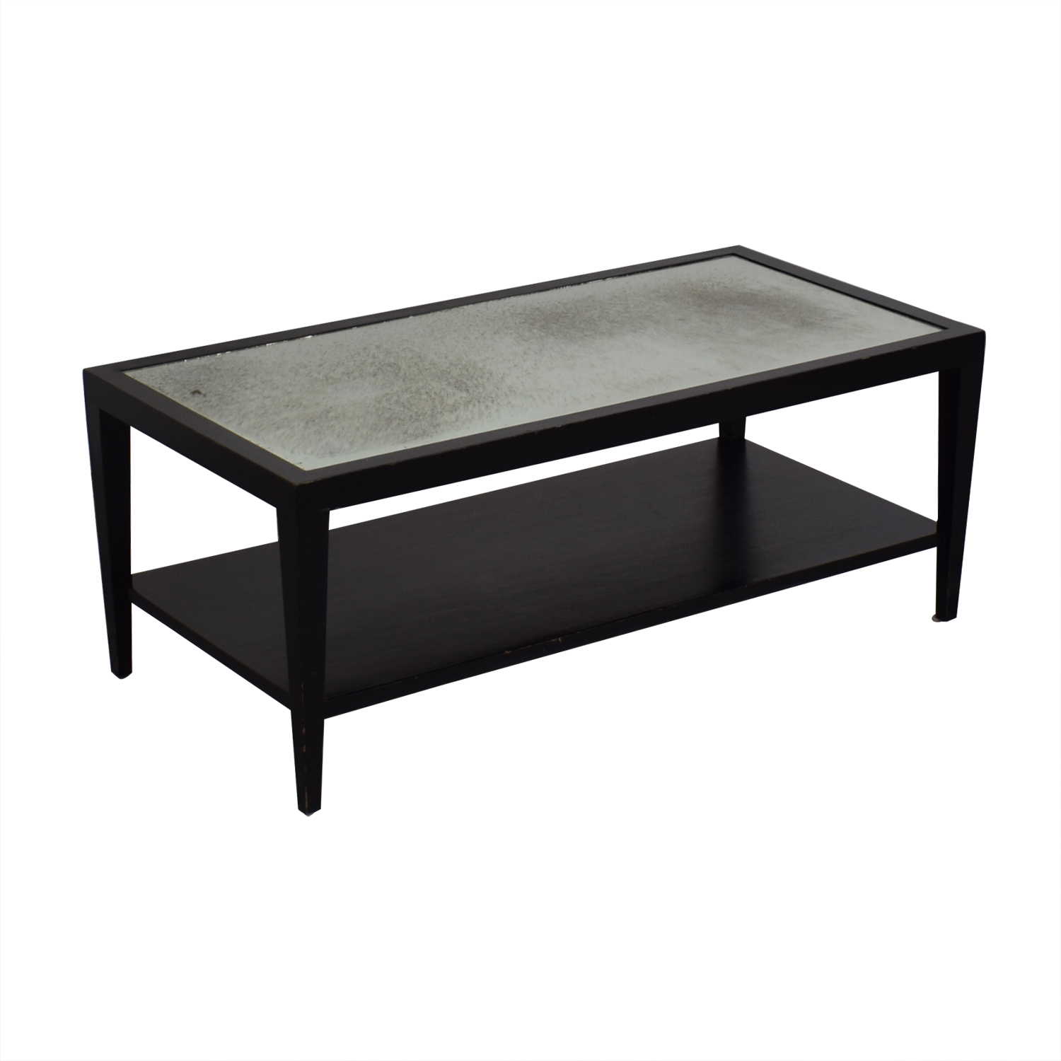 shop Crate & Barrel Two Tiered Coffee Table Crate & Barrel Coffee Tables