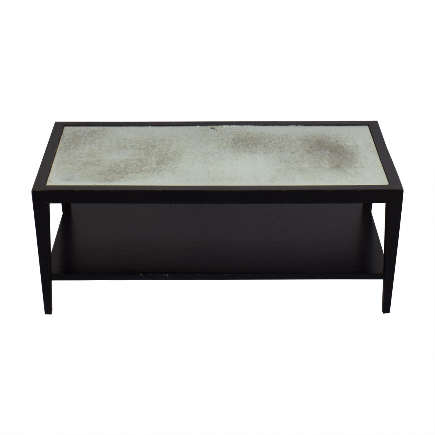 Crate & Barrel Crate & Barrel Two Tiered Coffee Table
