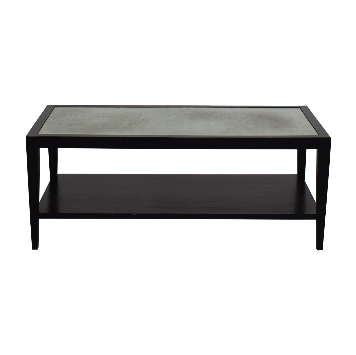 Crate & Barrel Crate & Barrel Two Tiered Coffee Table used
