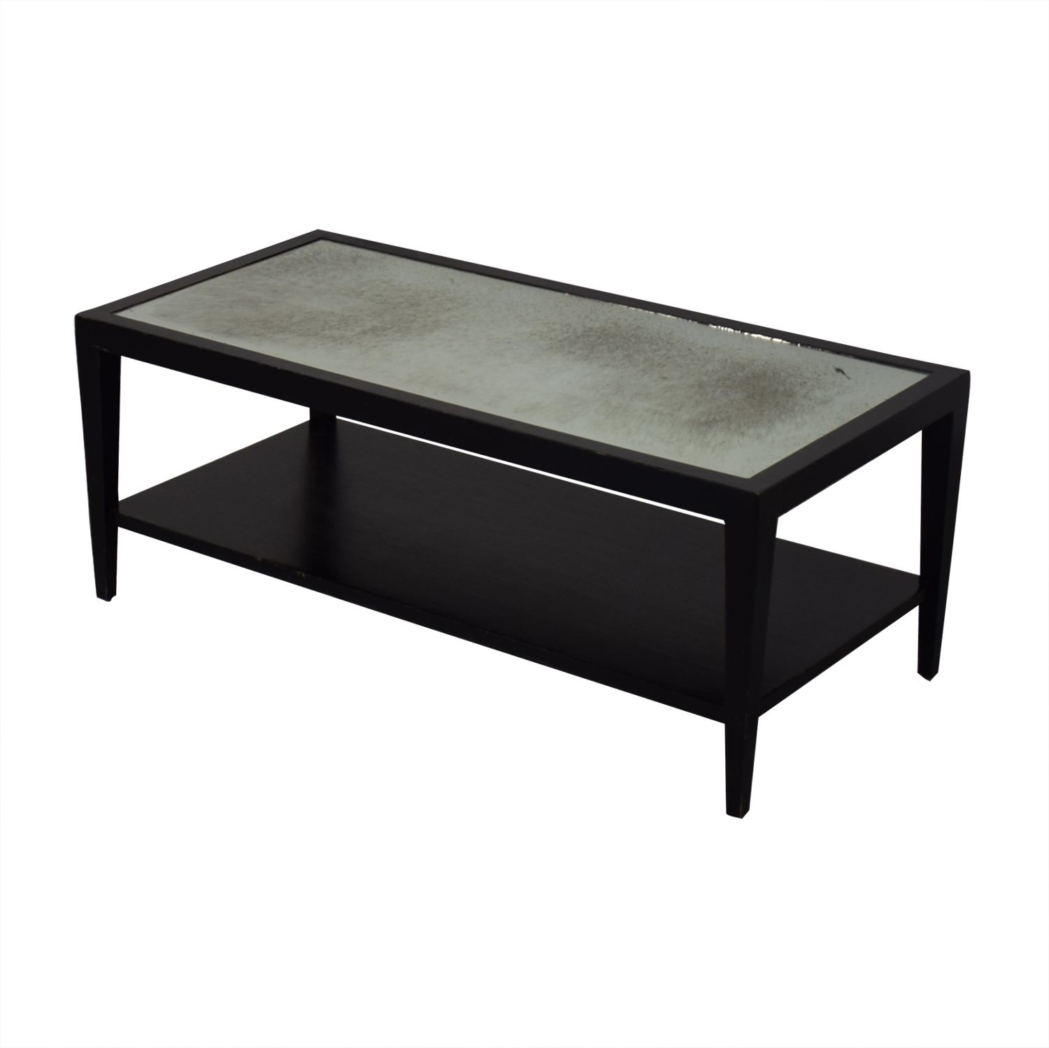 Crate & Barrel Two Tiered Coffee Table sale