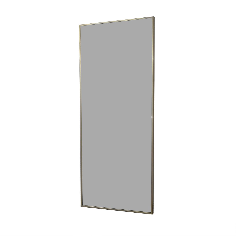 West Elm West Elm Metal Framed Floor Mirror nj