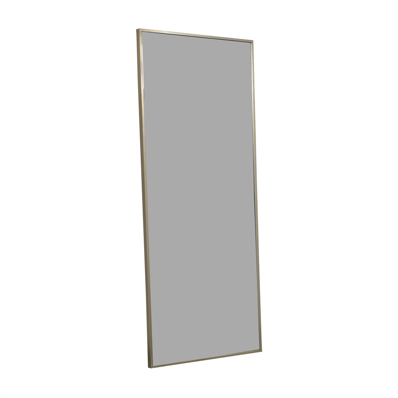 buy West Elm Metal Framed Floor Mirror West Elm