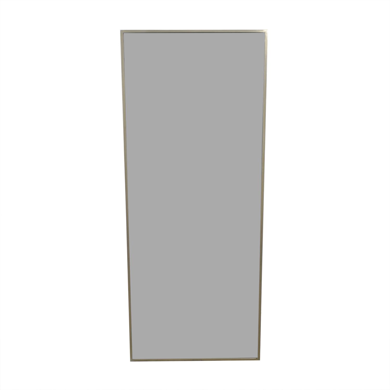 buy West Elm West Elm Metal Framed Floor Mirror online