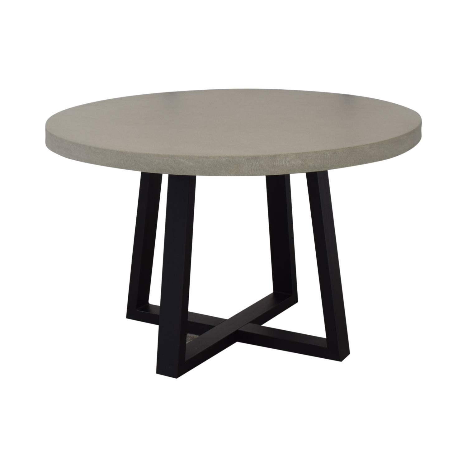 shop West Elm Round Slab Outdoor Dining Table West Elm Tables
